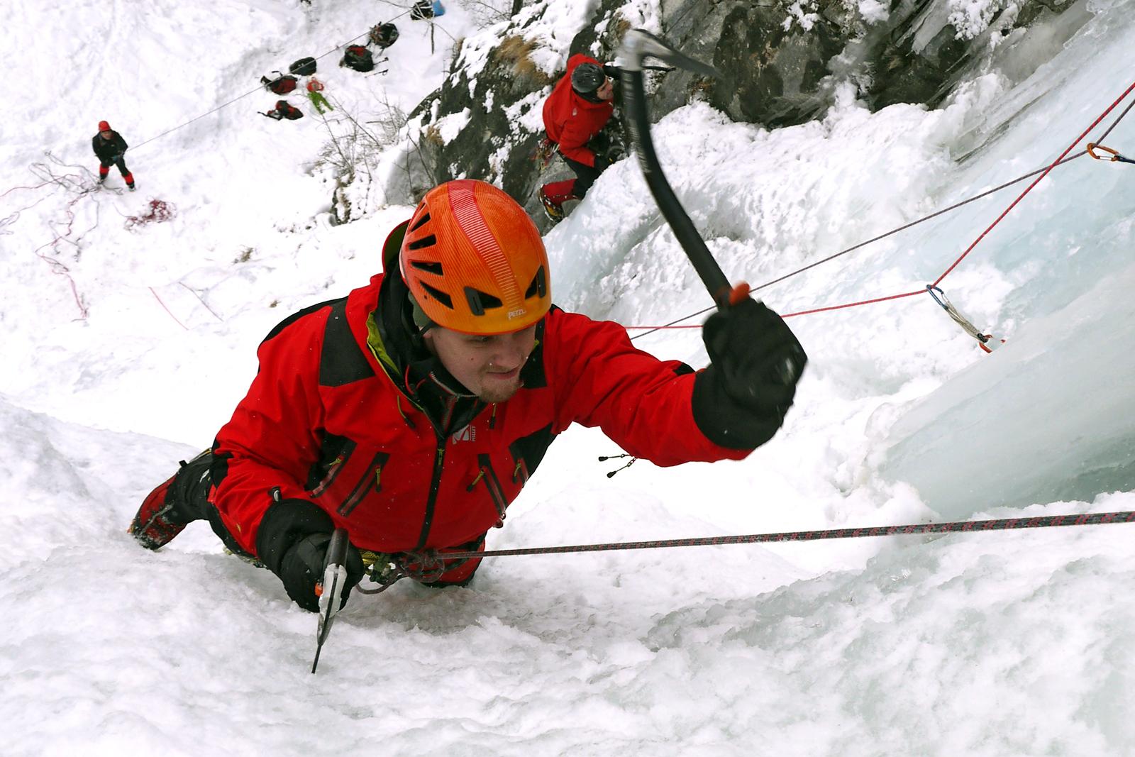Calendrier sorties - Stage découverte cascade de glace