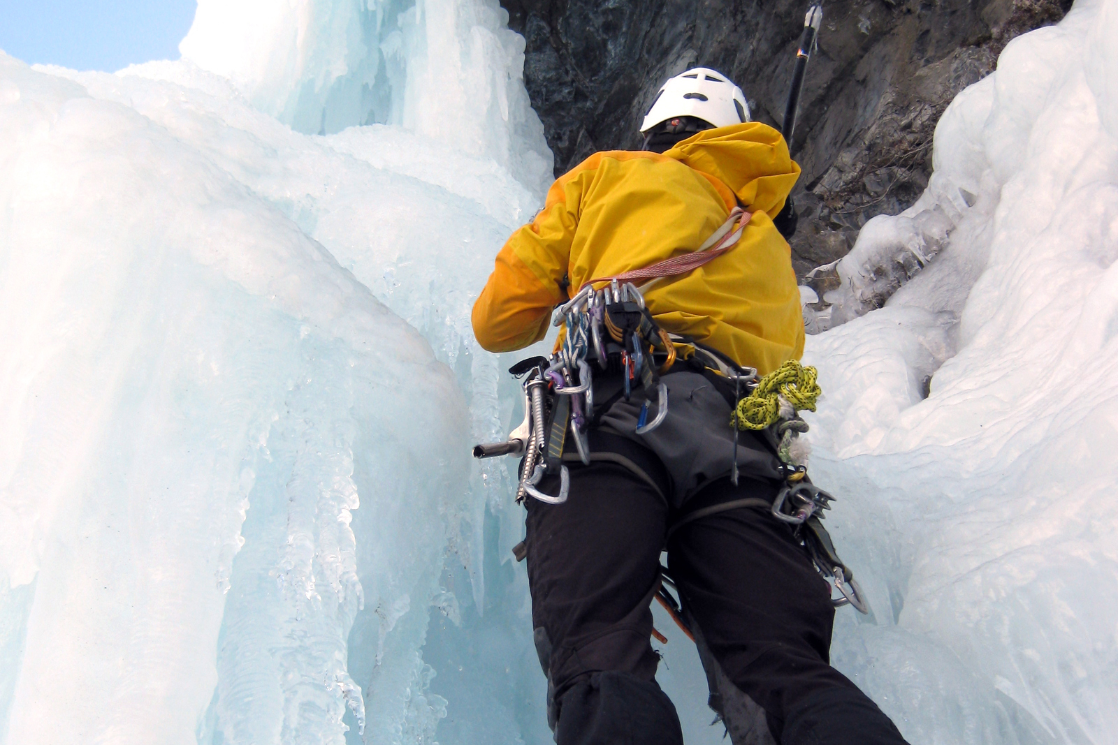 Calendrier sorties - initiation cascade de glace 1/2 journée