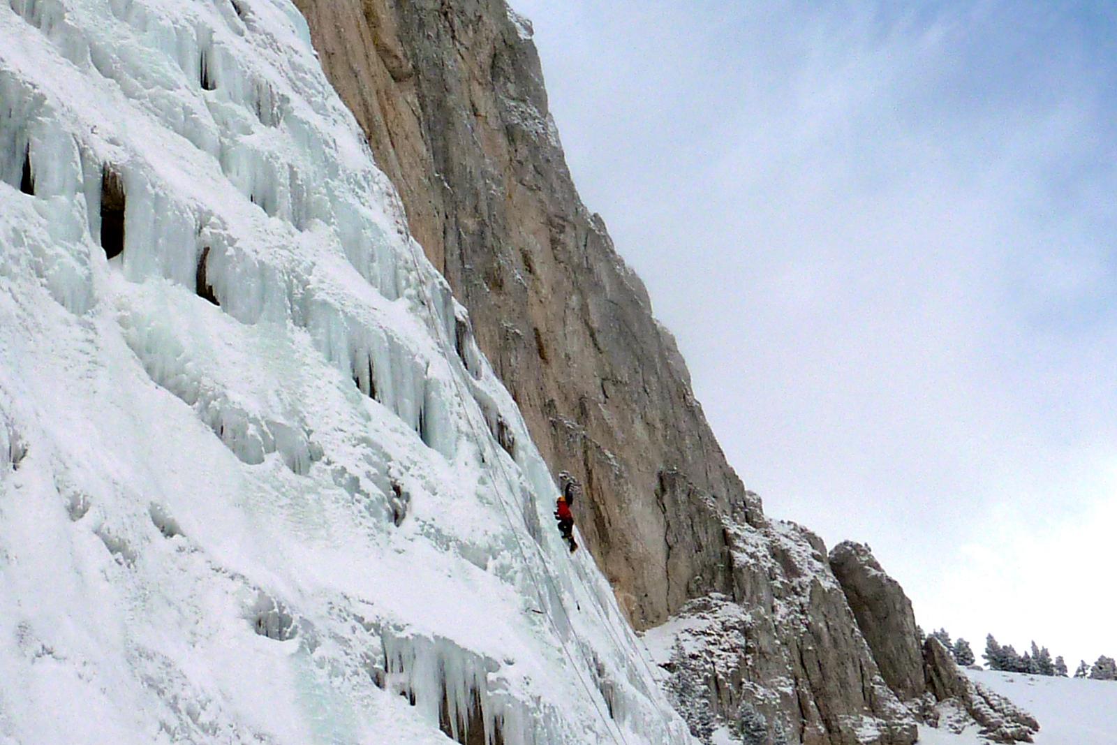 Calendrier sorties - Grande voie cascade de glace