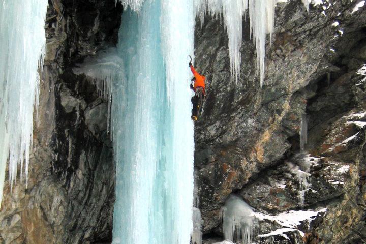 stage cascade de glace