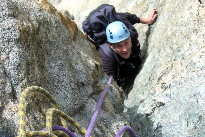 Escalade avec les guides de Grenoble