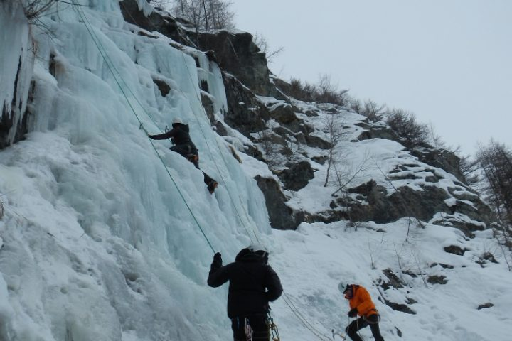 WE cascade de glace depuis Grenoble
