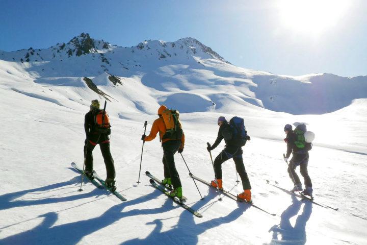 ski de randonnée guide grenoble / grand paradis / chamonix zermatt