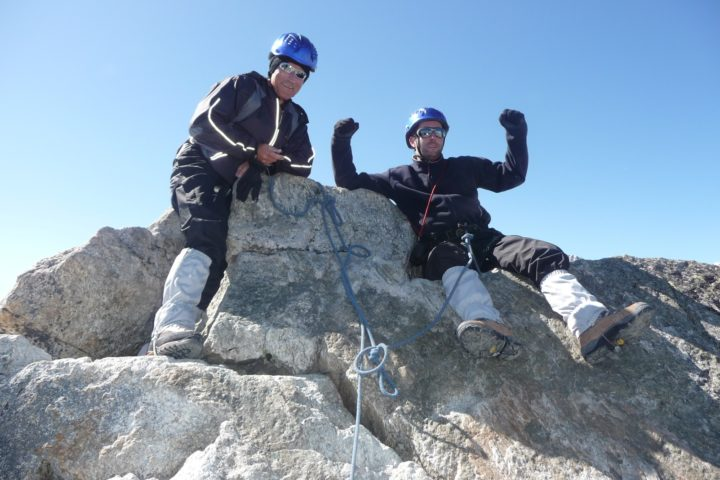 initiation perfectionnement alpinisme