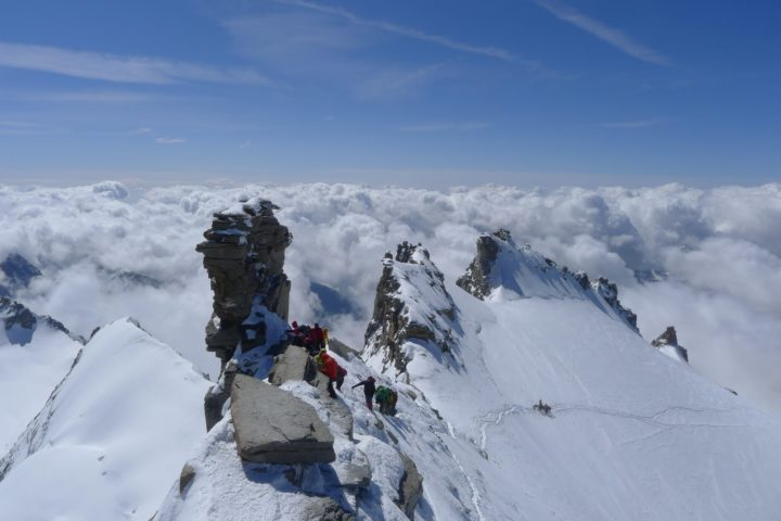 Ascension du Grand Paradis avec le bureau des guides de Grenoble
