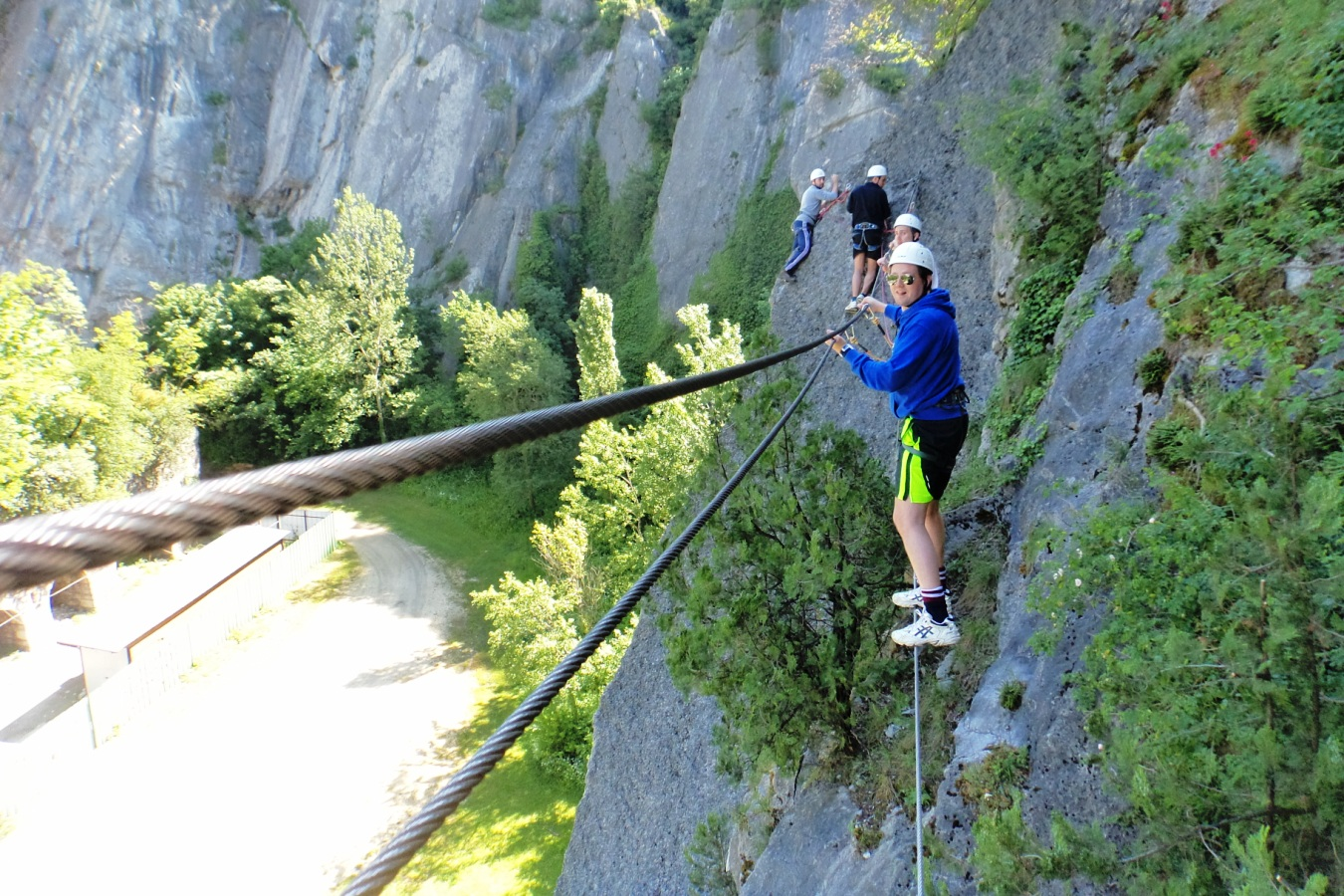 Calendrier sorties - Via ferrata Grenoble Bastille