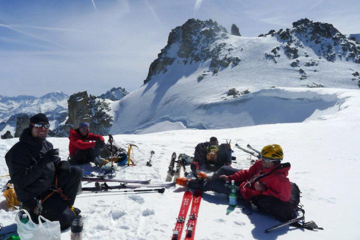 raid à ski bureau des guides de grenoble