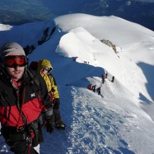 Ascension du Mont blanc à 1 heure du Mont-blanc avec le bureau des guides de Grenoble