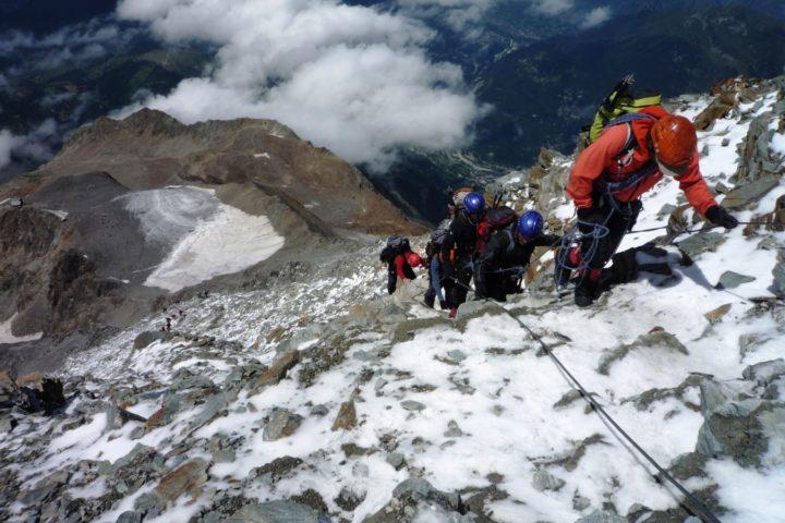 ascension du Mont Blanc avec le bureau des guides de grenoble