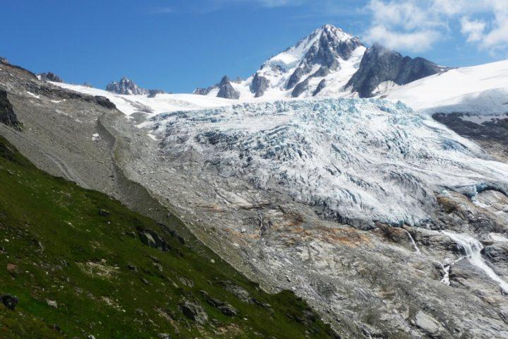 stage Mont-blanc avec le bureau des guides de Grenoble, glacier du tour