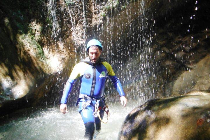 marche en canyon, Vercors