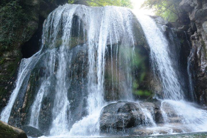 La grande cascade du canyon du Furon