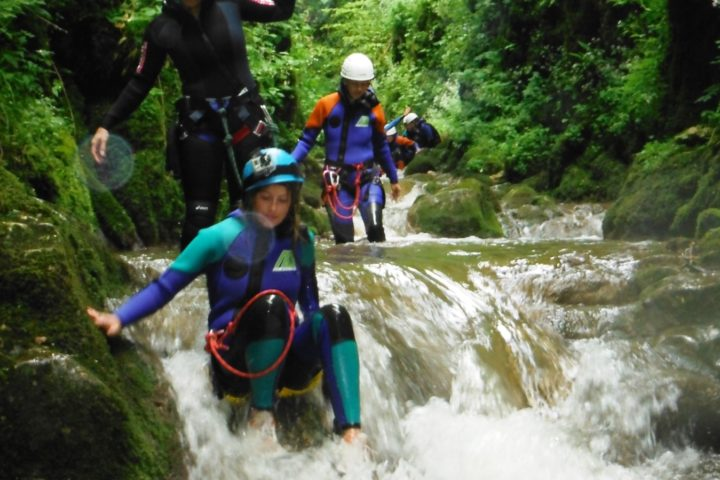 canyoning chambéry, le grenant