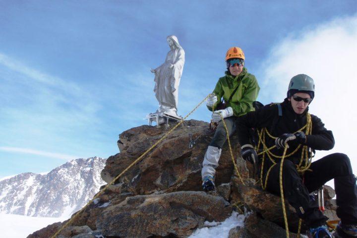 Stage Mont-Rose avec le bureau des guides de Grenoble
