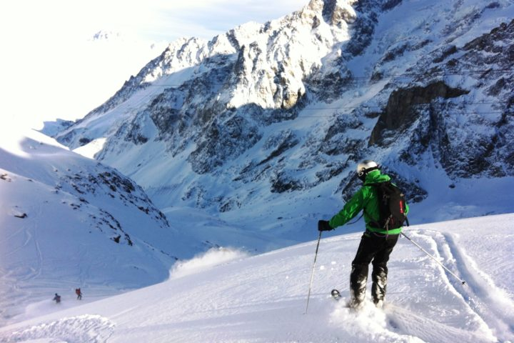 les vallons de la Meije avec le bureau des guides de Grenoble