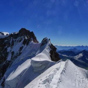 Arête de neige avec les guides de Grenoble