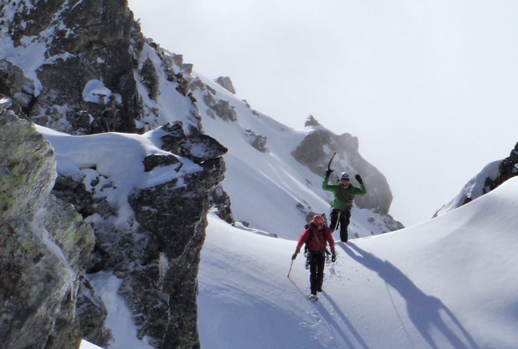 Stage perfectionnement alpinisme, 3 jours