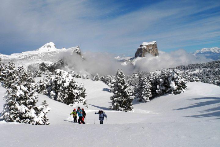 ski nordique avec le bureau de guides de Grenoble