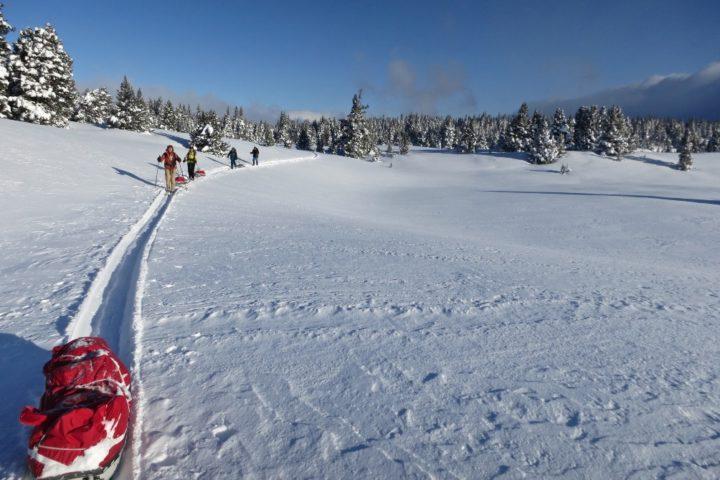 ski nordique avec le bureau des guides de Grenoble