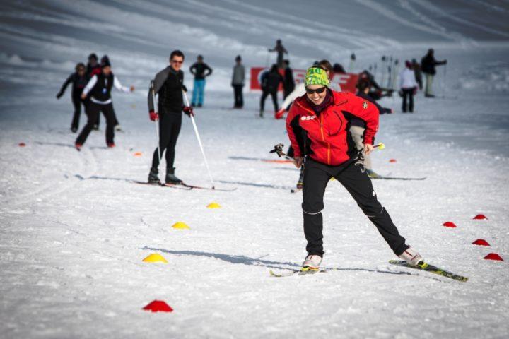 ski skating avec le bureau des guides de Grenoble