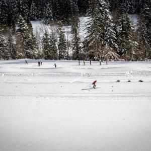 ski de fond avec le bureau des guides de Grenoble