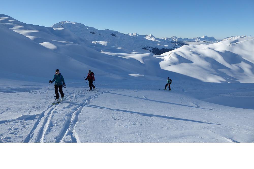 Calendrier sorties - Découverte ski de randonnée