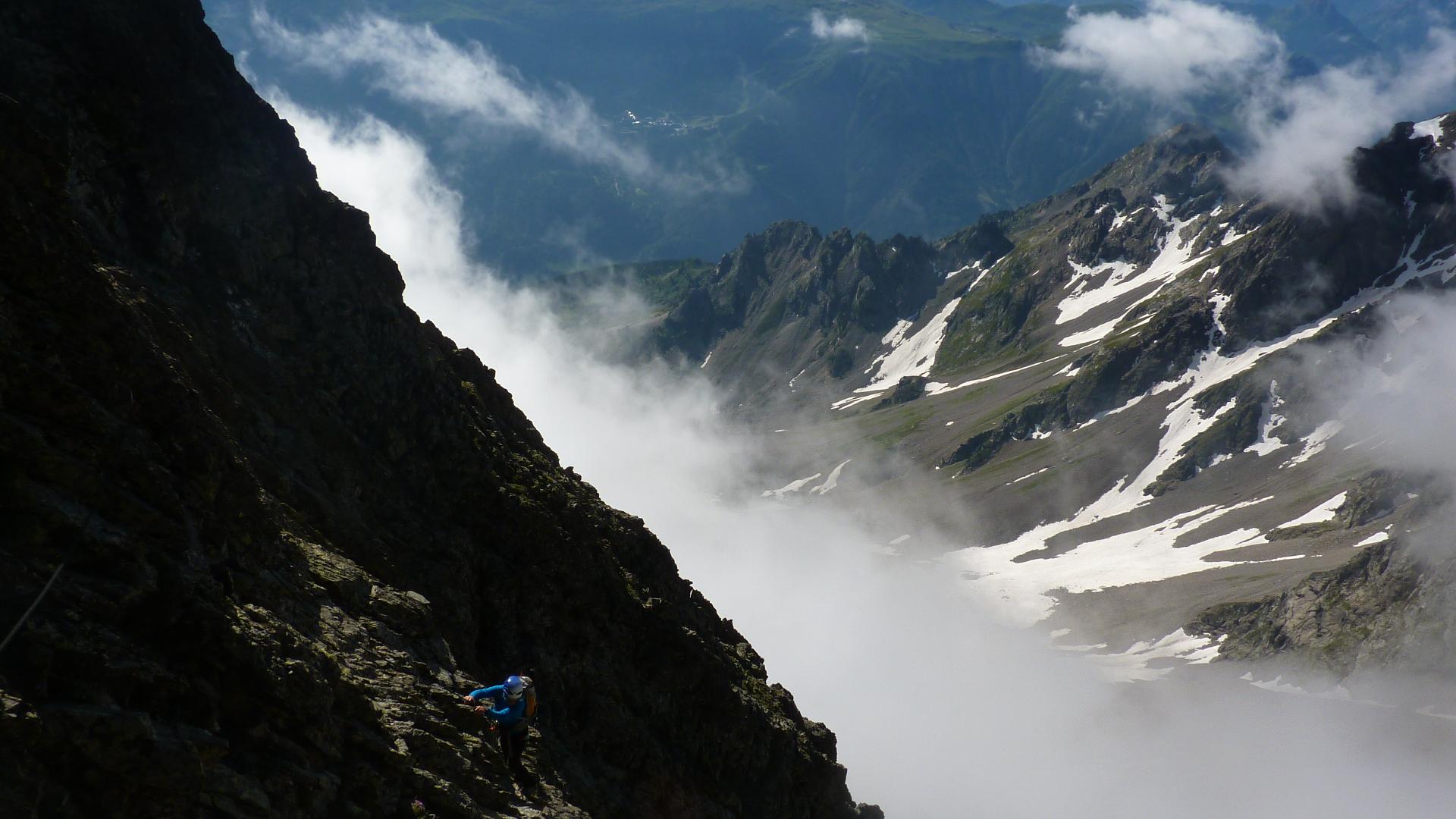 Calendrier sorties - traversée du Grand Pic de Belledonne