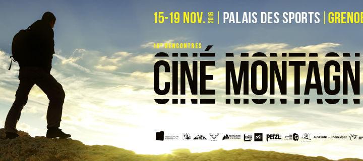 Teaser des Rencontres du Cinéma de Montagne Grenoble 2016