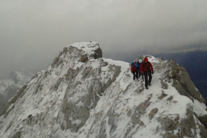 Alpinisme hivernal : la goulotte des marmottes comme si vous y étiez