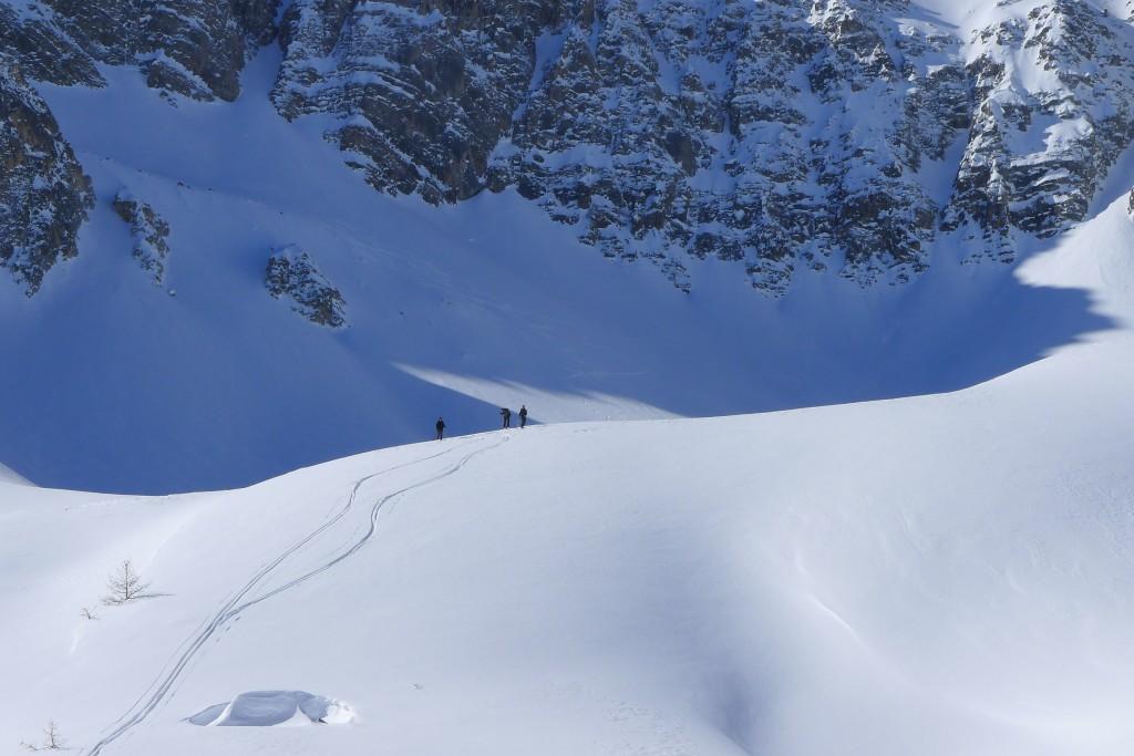 descente ski clarée
