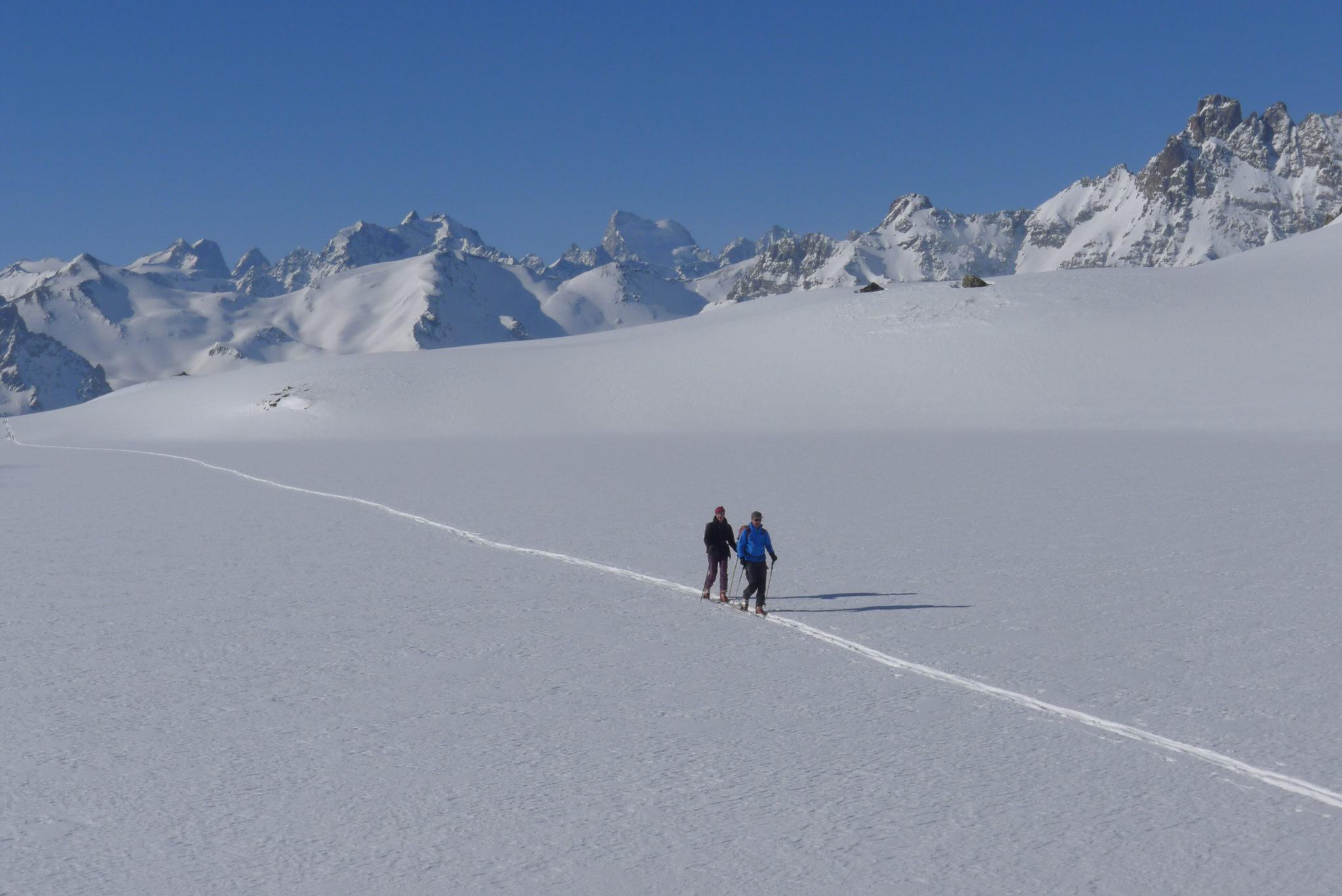 Ski De Rando Au Refuge Ricou