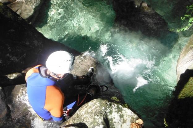 Canyoning autour de Grenoble