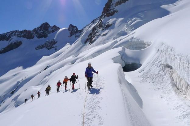 Initiation rando glaciaire
