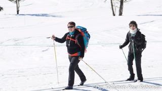 Ski de fond avec le bureau des guides!