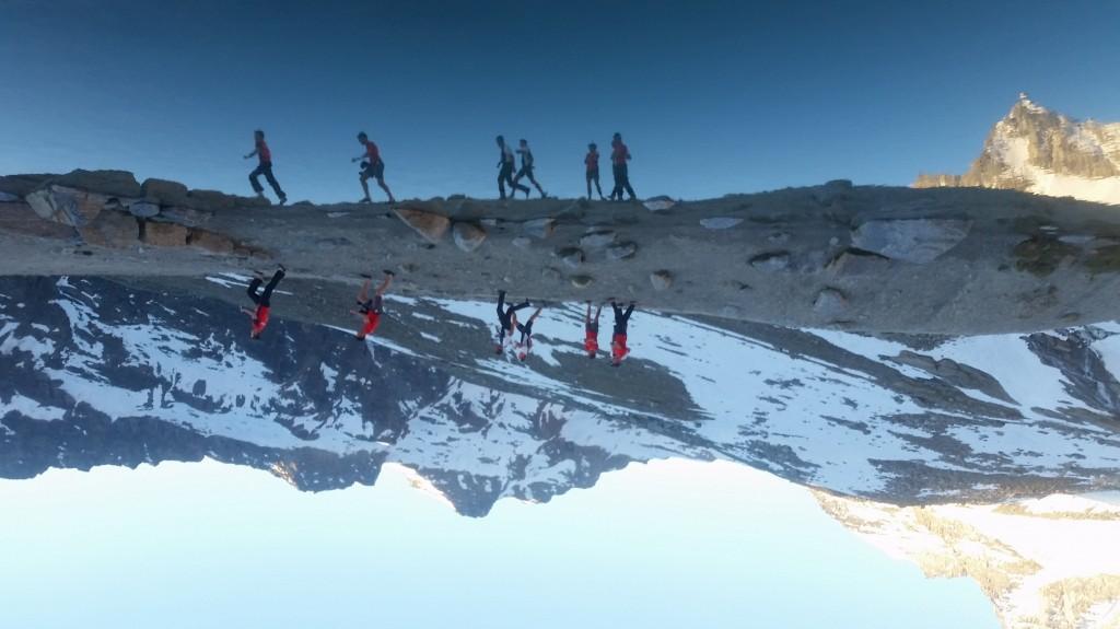 reflet lac grand paradis