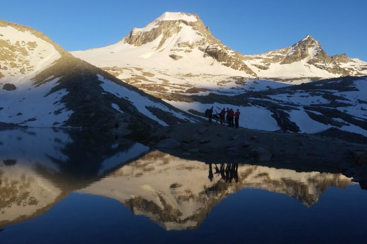 Ascension du Grand Paradis avec les étudiants de la fac de Lyon1