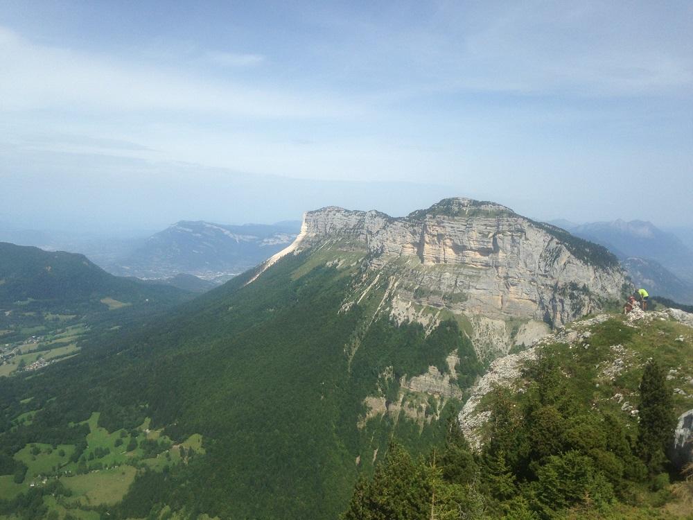 le granier depuis le sommet