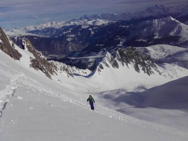 Perfectionnement ski de Rando en Lauzière