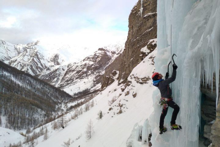 Stage autonomie Cascade de Glace Hautes Alpes