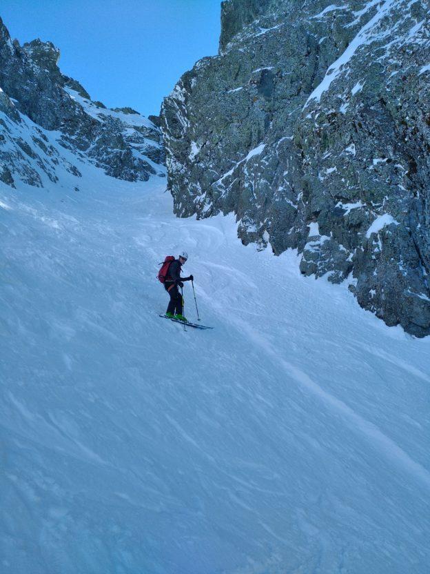 Perfectionnement ski de randonnée dans Belledonne