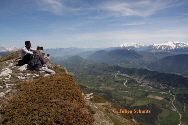 Randonnée au dessus de Gresse en Vercors