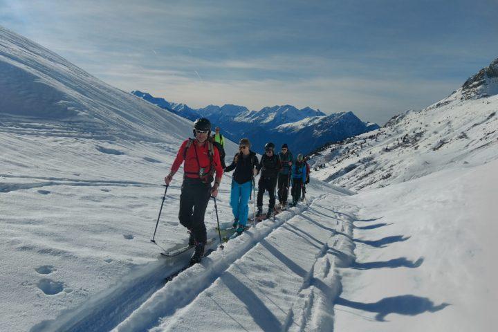 Découverte du ski de rando au col du Sabot